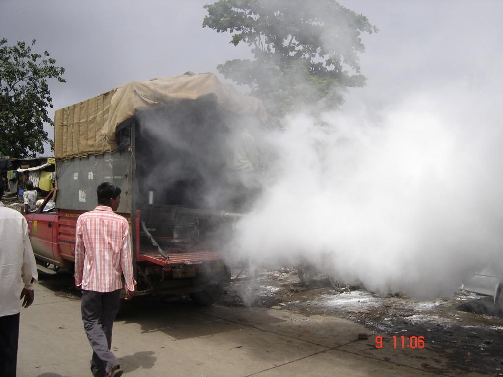 Vehicle Mounted Fogging